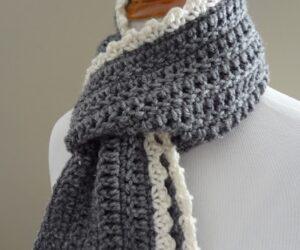 Top 10 DIY Warm and Cozy Crochet Scarfs
