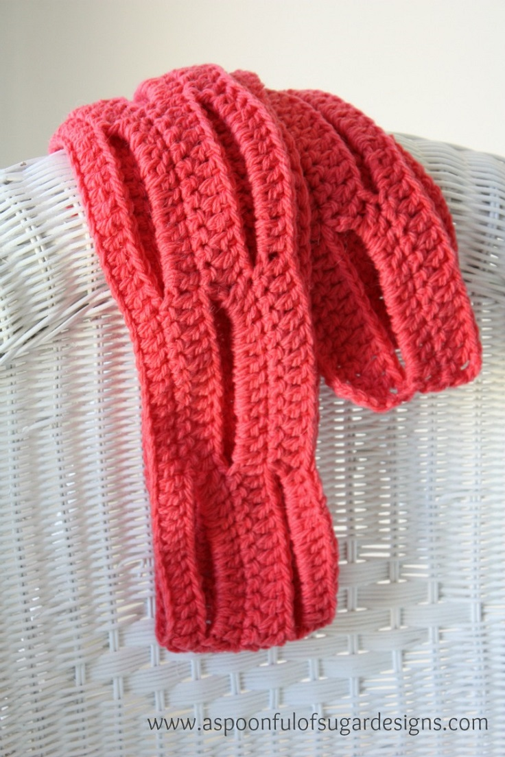Top 10 DIY Warm and Cozy Crochet Scarfs
