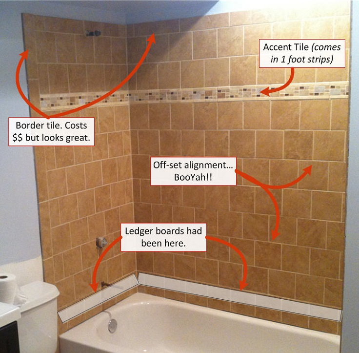 Top 10 useful diy bathroom tile projects How to tile a shower