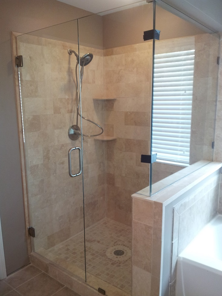 How To Install Bathroom Tile For The Shower Diy Budget Bathroom Renovation Reveal Beautiful