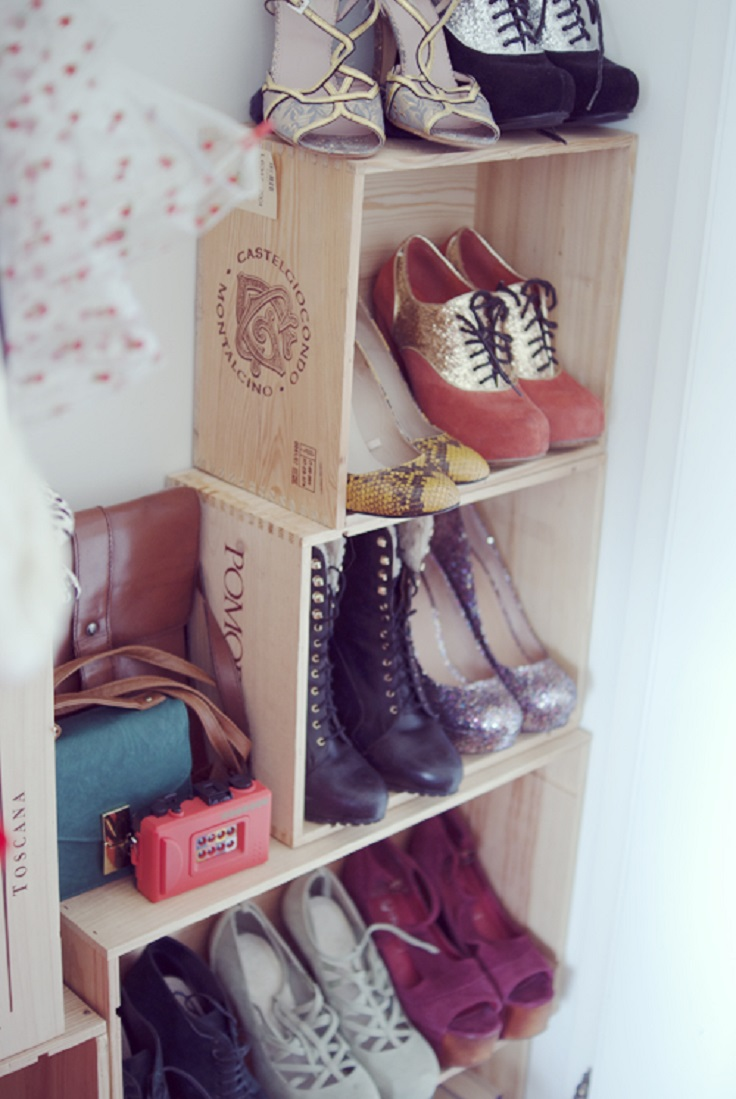Top 10 Useful DIY Shoes Storage