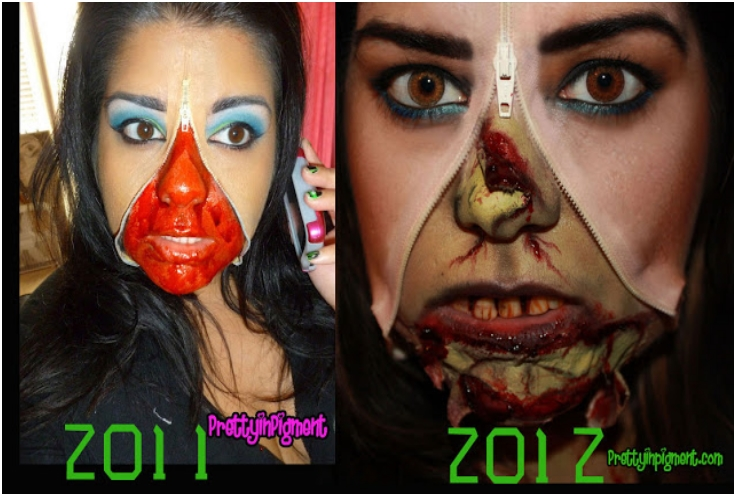 Top 10 Zombie Make-up Tutorials