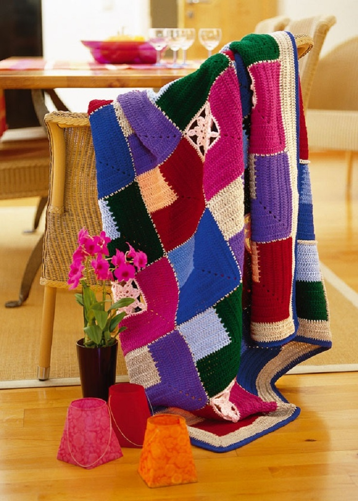 Top 10 Crochet Patterns For Warm And Homey Blankets Top