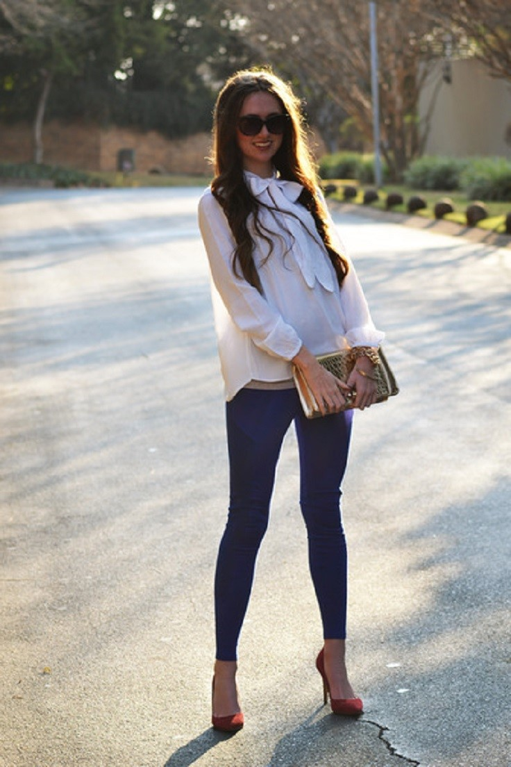 Top 10 Ways to Wear Leggings - Top Inspired