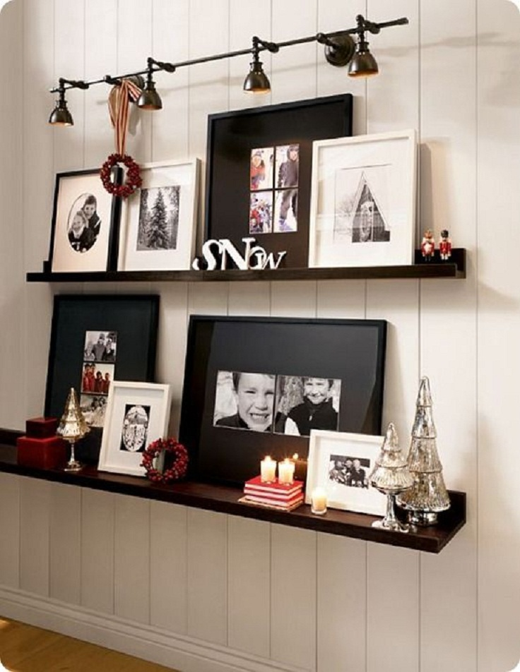 Top 10 best ways to display family photos top inspired - Decoracion con cuadros ...