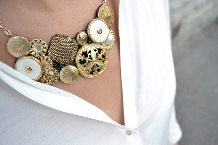 Top 10 DIY Buttons Jewelry | Top Inspired