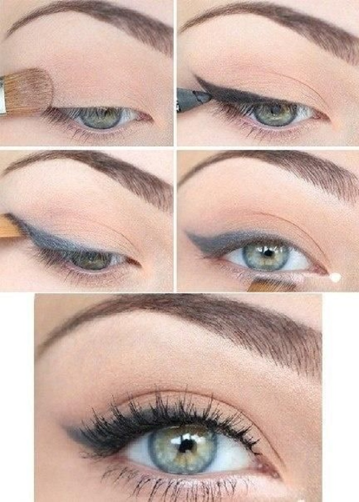 Easy Makeup Tutorial And Style For Android: TOP 10 Easy Natural Eye Makeup Tutorials