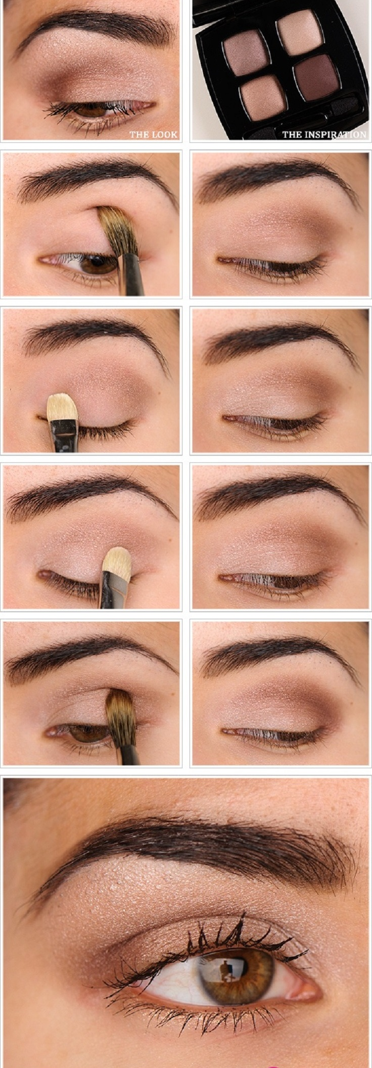 Top 9 Easy Natural Eye Makeup Tutorials - Top Inspired