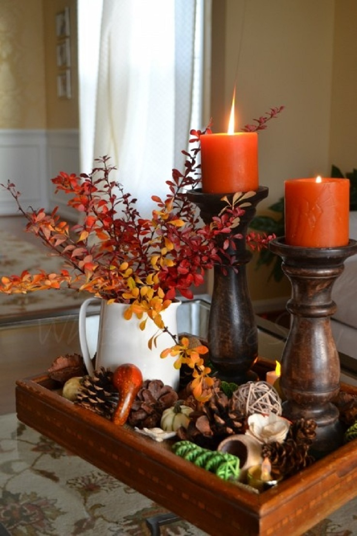 Top 10 amazing diy decorations for thanksgiving top inspired Thanksgiving table decorations homemade