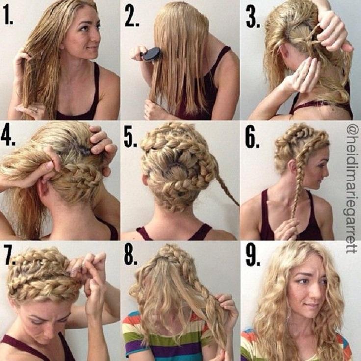 10 Diy No Heat Curls Tutorials Top Inspired