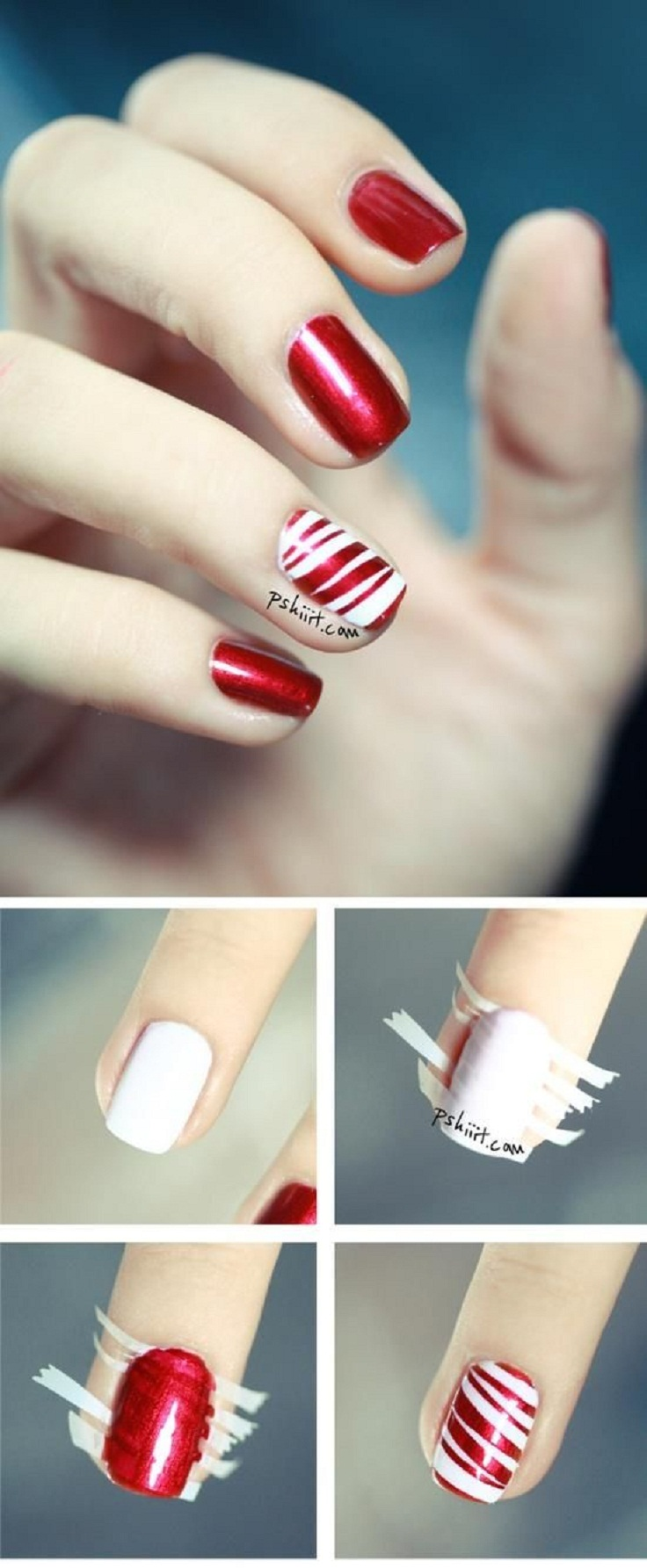 Top 10 DIY Winter Nail Art Tutorials - Top Inspired