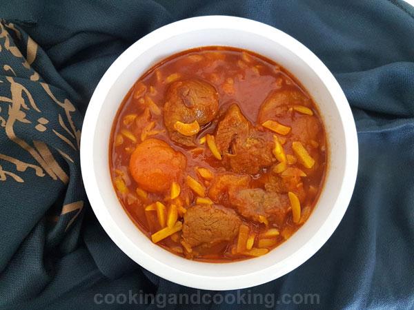 Almond-Stew