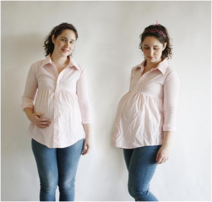 Top 10 DIY Maternity Clothes - Top Inspired
