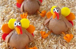 Top 10 Cute DIY Thanksgiving Turkey Treats | Top Inspired