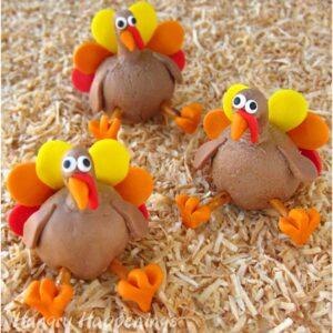 Chocolate-Peanut-Butter-Fudge-or-Chocolate-Caramel-Thanksgiving-Turkey-Treats-300x300