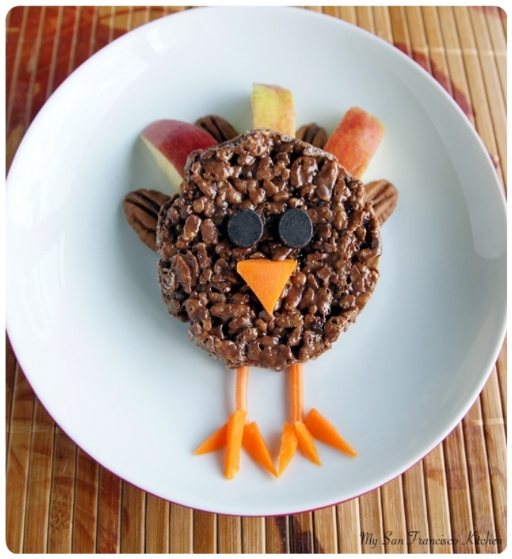 Chocolate-Rice-Cereal-Turkeys