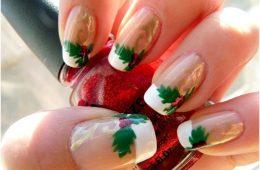 Top 10 Elegant DIY Christmas Nail Art | Top Inspired