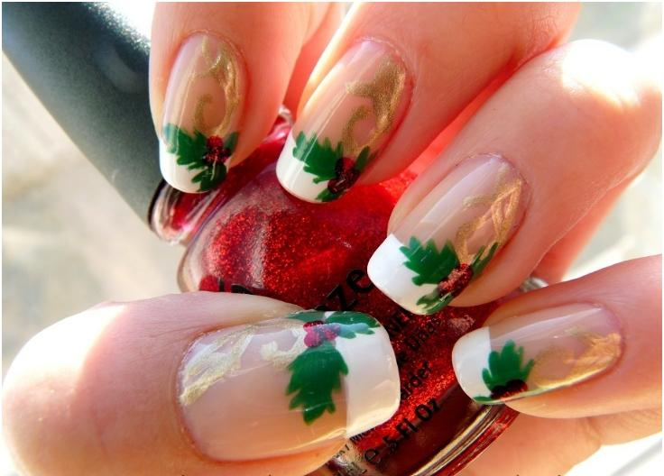 Top 10 elegant diy christmas nail art top inspired top 10 elegant diy christmas nail art prinsesfo Image collections