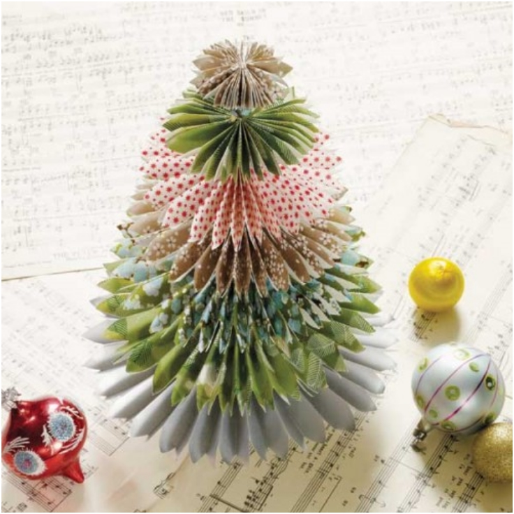 Top 10 DIY Mini Christmas Trees From Paper | Top Inspired