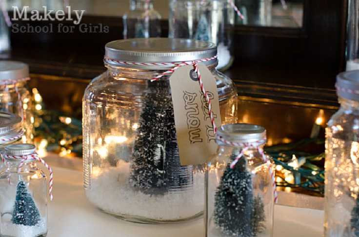 Top 10 Diy Christmas Snow Globes Top Inspired