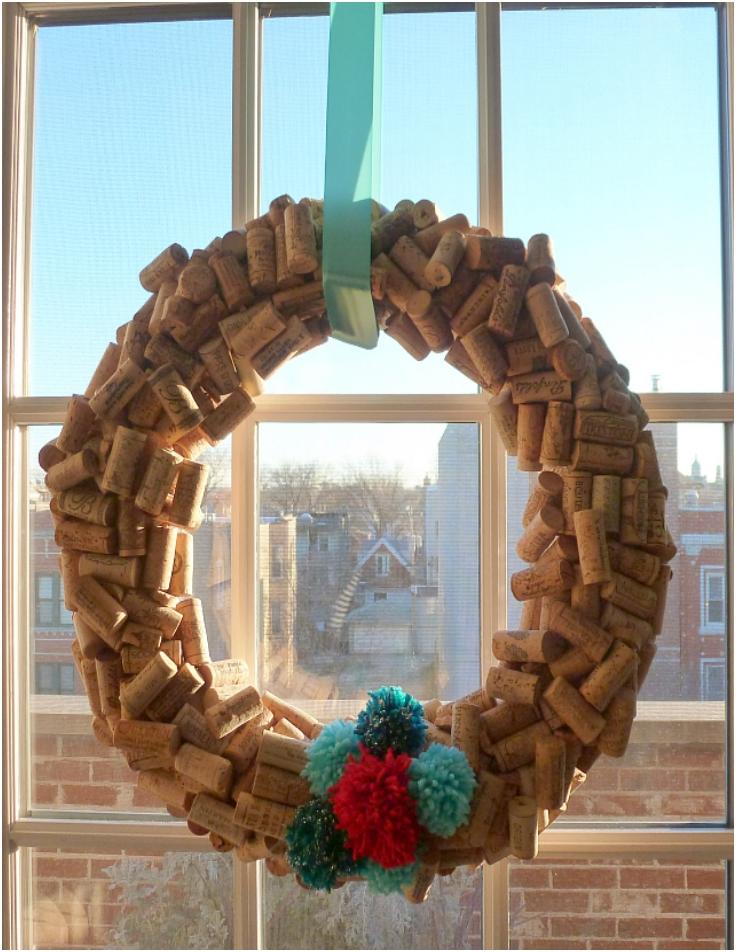 Cork-Wreath