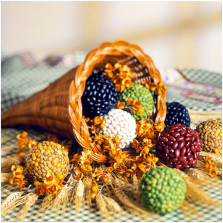 Cornucopia centerpiece diy ideas for thanksgiving top