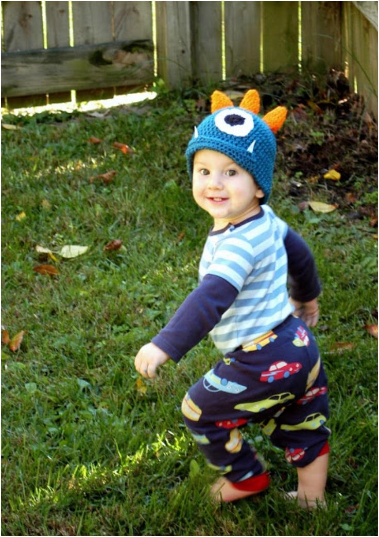 Crochet-Monster-Hat-Pattern