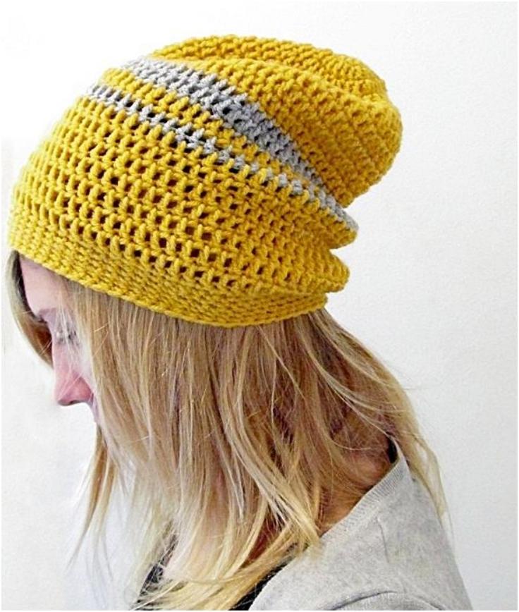 Crochet-Urban-Slouchy-Beanie