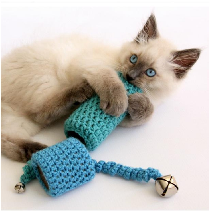 Top 10 fun diy cat toys top inspired - Diy jouet pour chat ...