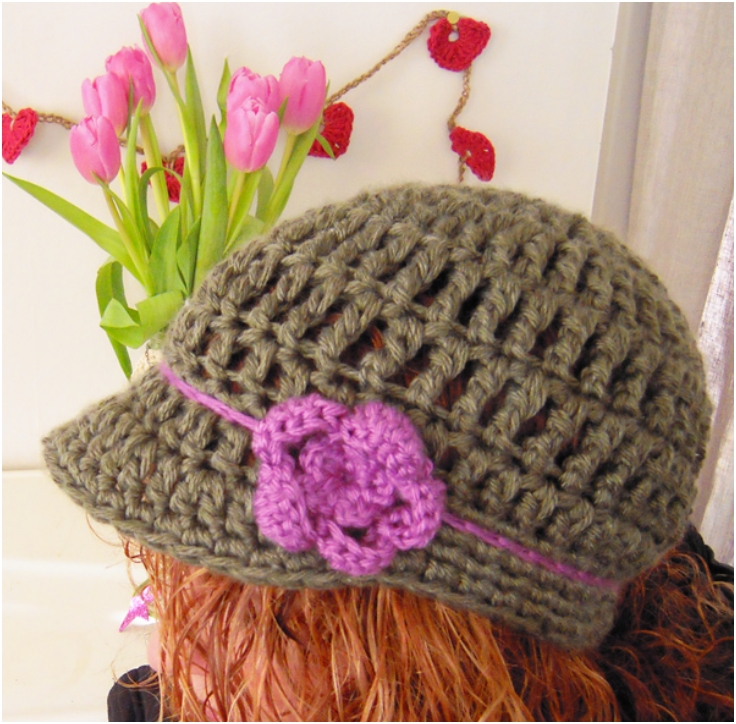 Top 10 Fashionable DIY Hats And Caps (Free Crocheting ...