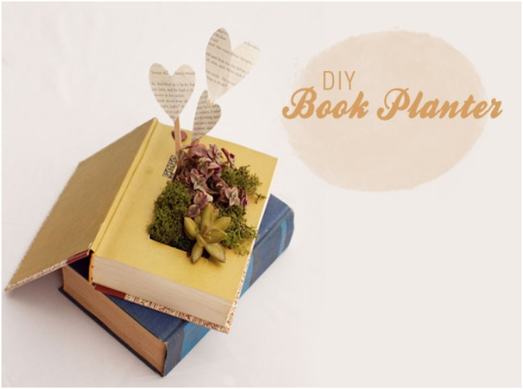 DIY-BOOK-PLANTER-WITH-SUCCULENTS