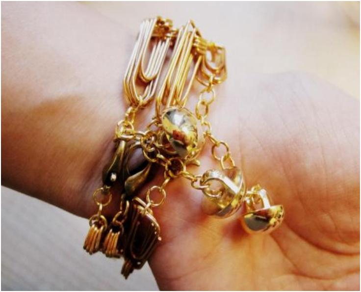 DIY-Chunky-Paperclip-Bracelet