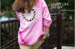 Top 10 DIY Fashionable Clothes From Old Crocheted Doilies | Top Inspired