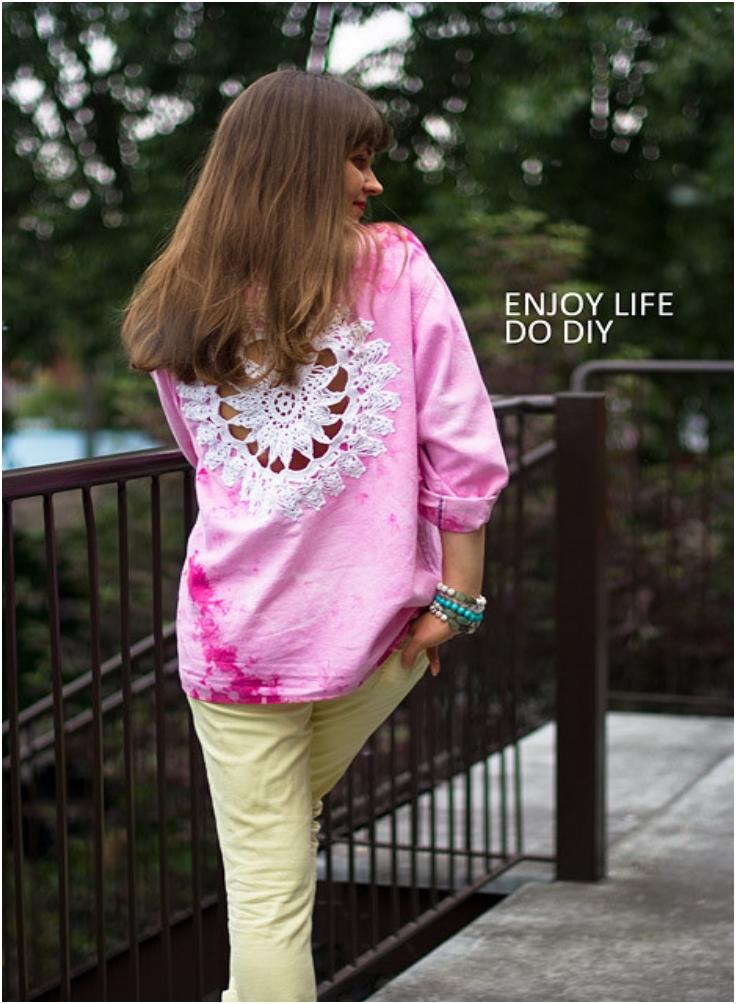 DIY-Doily-Embellished-Shirt
