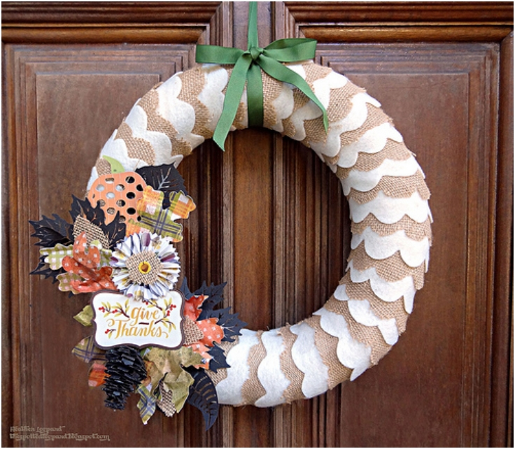 Top 10 DIY Thanksgiving Wreaths