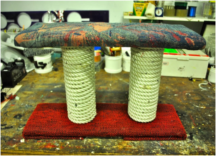 Top 10 diy cat scratching posts and pads top inspired for Build your own cat scratch tower