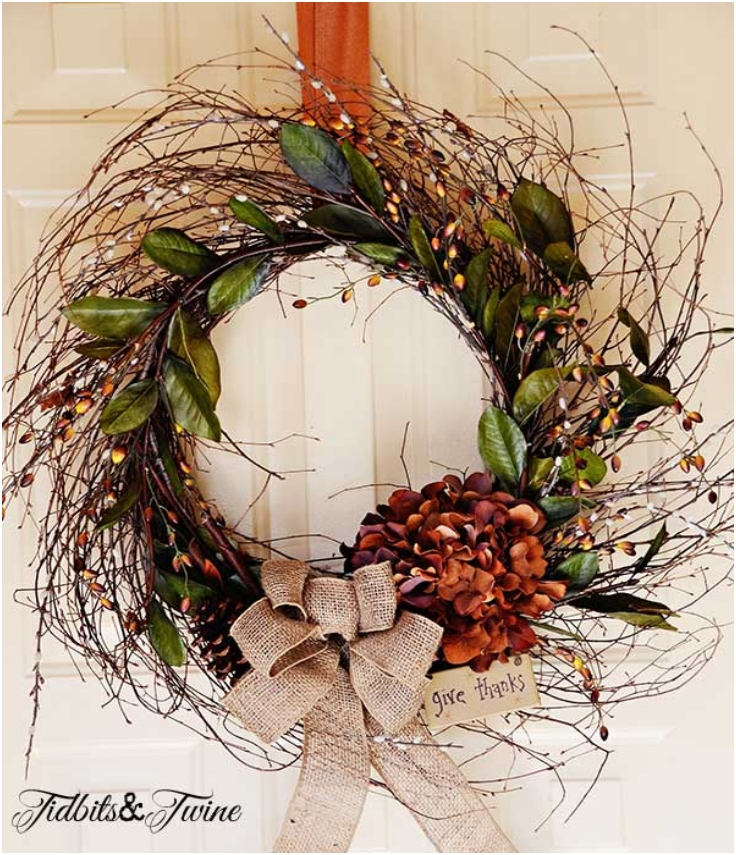 DIY-Inexpensive-Fall-Wreath-And-Fancy-Bow