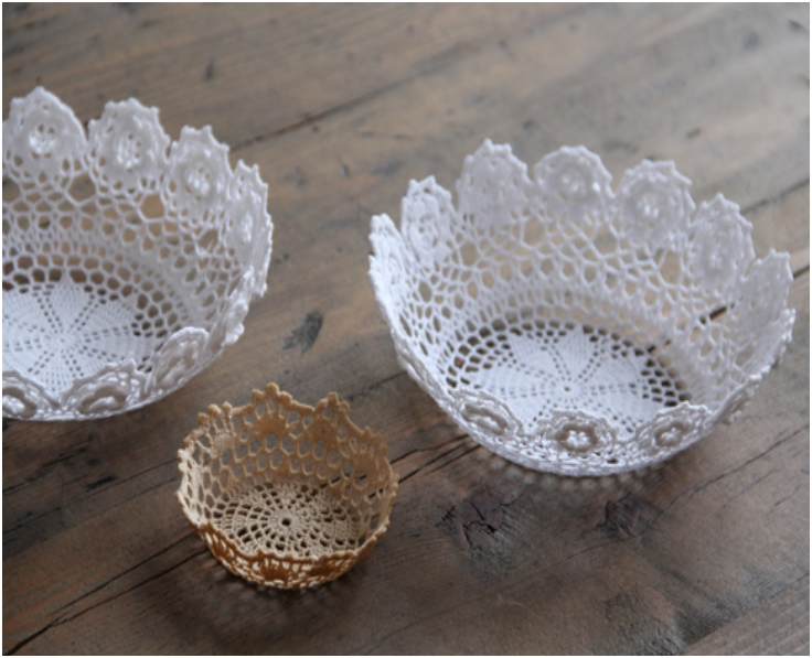 Diy Paper Doily Lanterns Pictures to pin on Pinterest