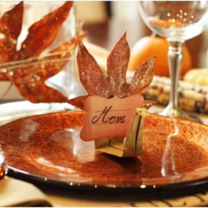 Top 10 Fun And Fancy Thanksgiving Place Cards | Top Inspired