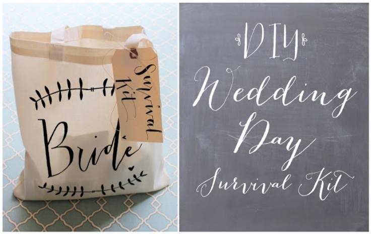 DIY Wedding Day Survival Kit