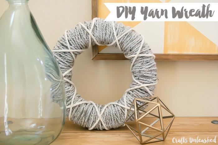DIY-Yarn-Wreath-Tutorial-Crafts-Unleashed-1