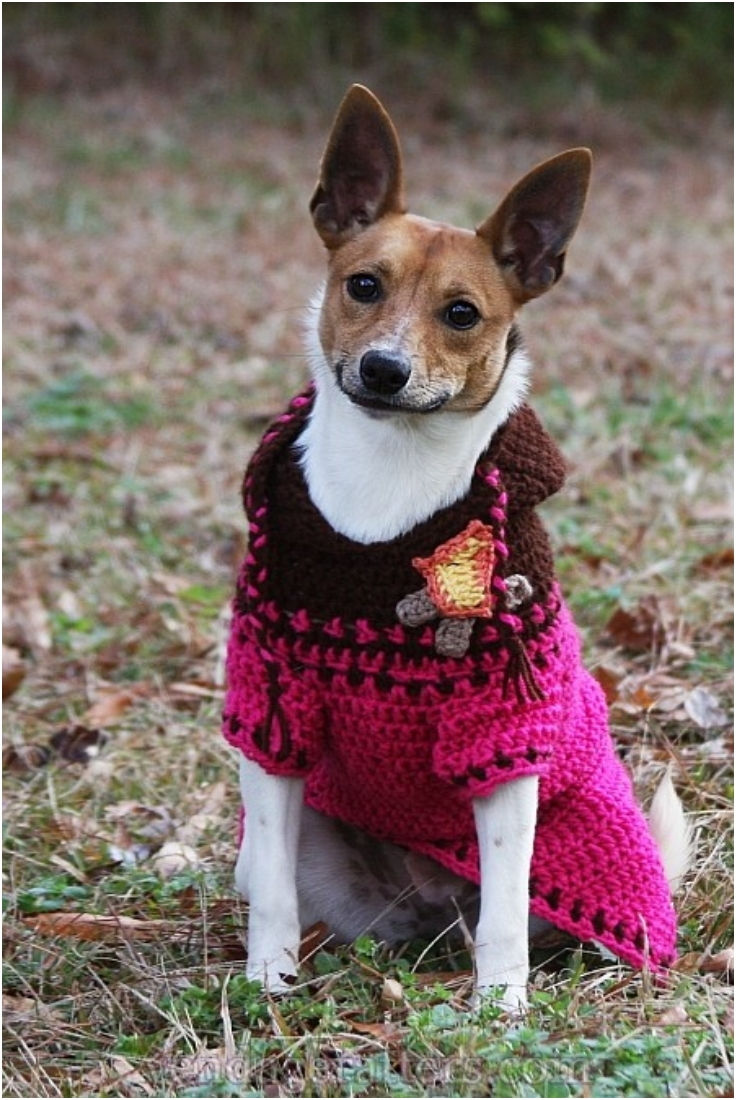 Crochet Dog Sweaters Free Crochet Patterns Amp Video Tutorials