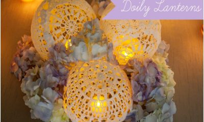 Top 10 DIY Doily Decorations | Top Inspired