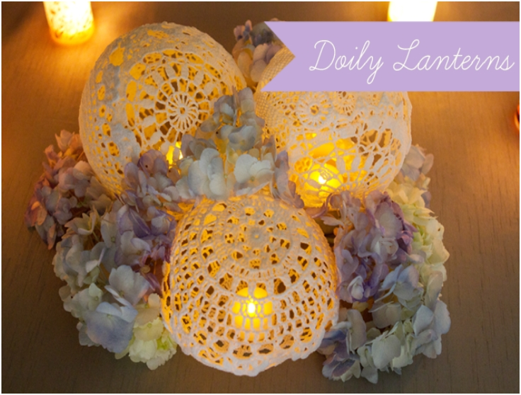 Top 10 DIY Doily Decorations