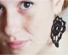 Earrings DIY Crochet Tutorial