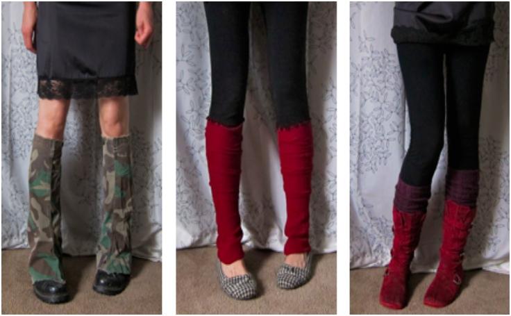 Easy-DIY-No-Sew-Leg-Warmers-Hand-Warmers