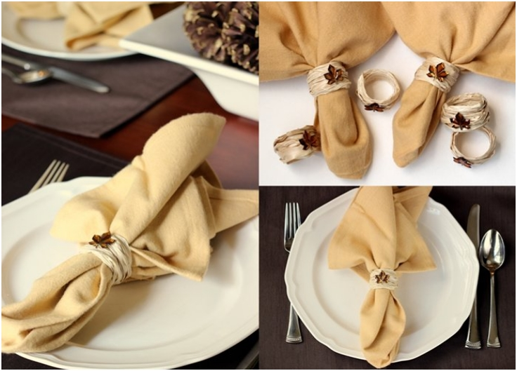 Fall-DIY-napkin-rings-using-raffia