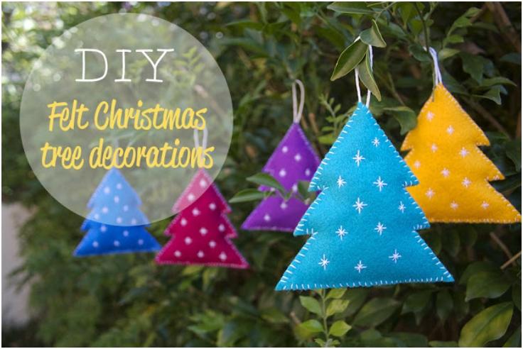 Felt-Christmas-Trees