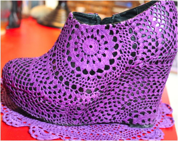 Top 10 DIY Fashionable Clothes From Old Crocheted Doilies