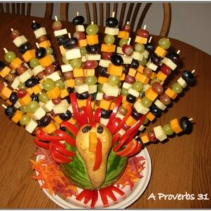 Top 10 Fun and Healthy Edible Thanksgiving Centerpieces | Top Inspired